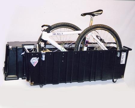 Tri All 3 Sports Original Velo Safe Pro Series Bike Case Bike